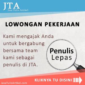 Lowongan Penulis JTA